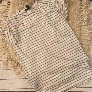 Forever 21 striped tshirt dress